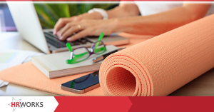 Employee Wellness Yoga Mat
